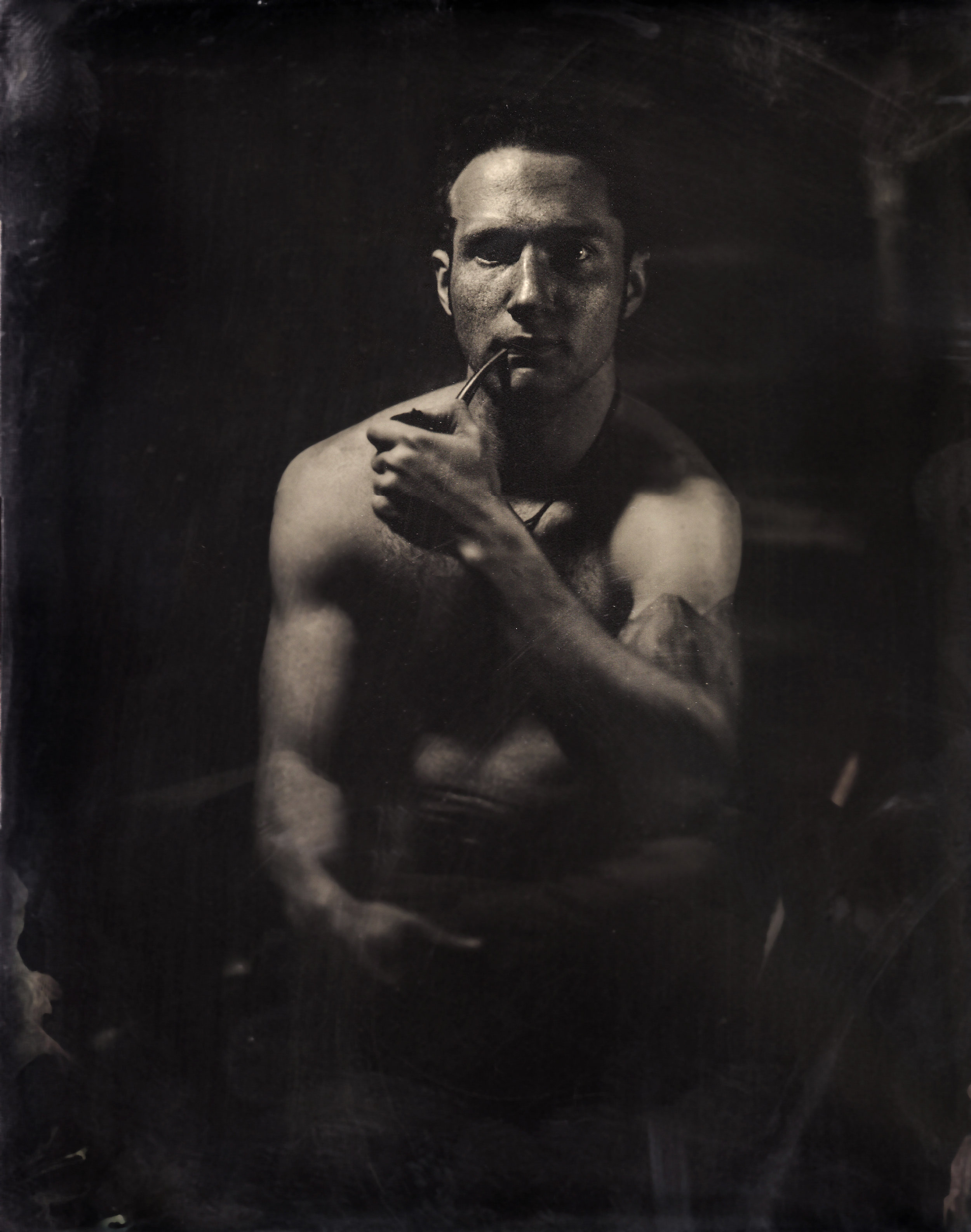Tintype Civil War photographer Lansing Michigan Steven Glynn