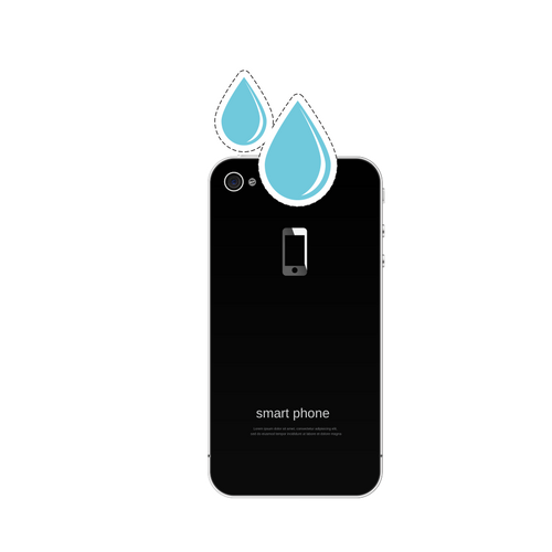 Water damage, Liquid damage smartphone