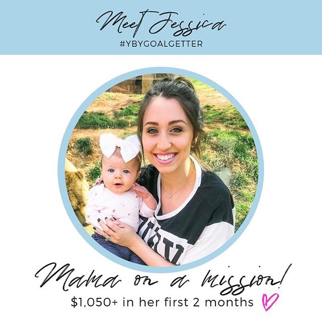 if this post baby transformation isn't enough (slide on over 😍) this new mama has also earned an extra $1,050+ in her first 2 months with us at YBY.. just for sharing the love with friends & fam (baby daddy too!) she's making big moves and is SO ready to spend all the precious moments with her little Claire (how stinking cute is she?!) and we just couldn't be more excited! cheers to superfood shakin' & loving life with your little one & designing your own days as a full time family & making an impact along the way ✨💕 #mompreneur #goalgetter #transformation . income levels may not be typical, @mrsjessica_craig is a total boss babe!