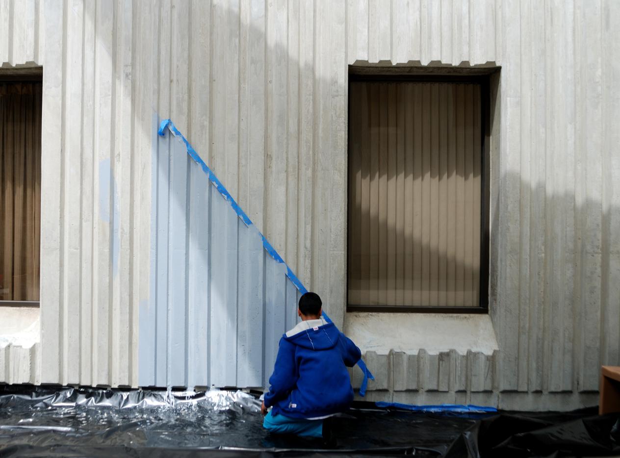 Augustus Hawkins Youth Painting Courtyard.jpg