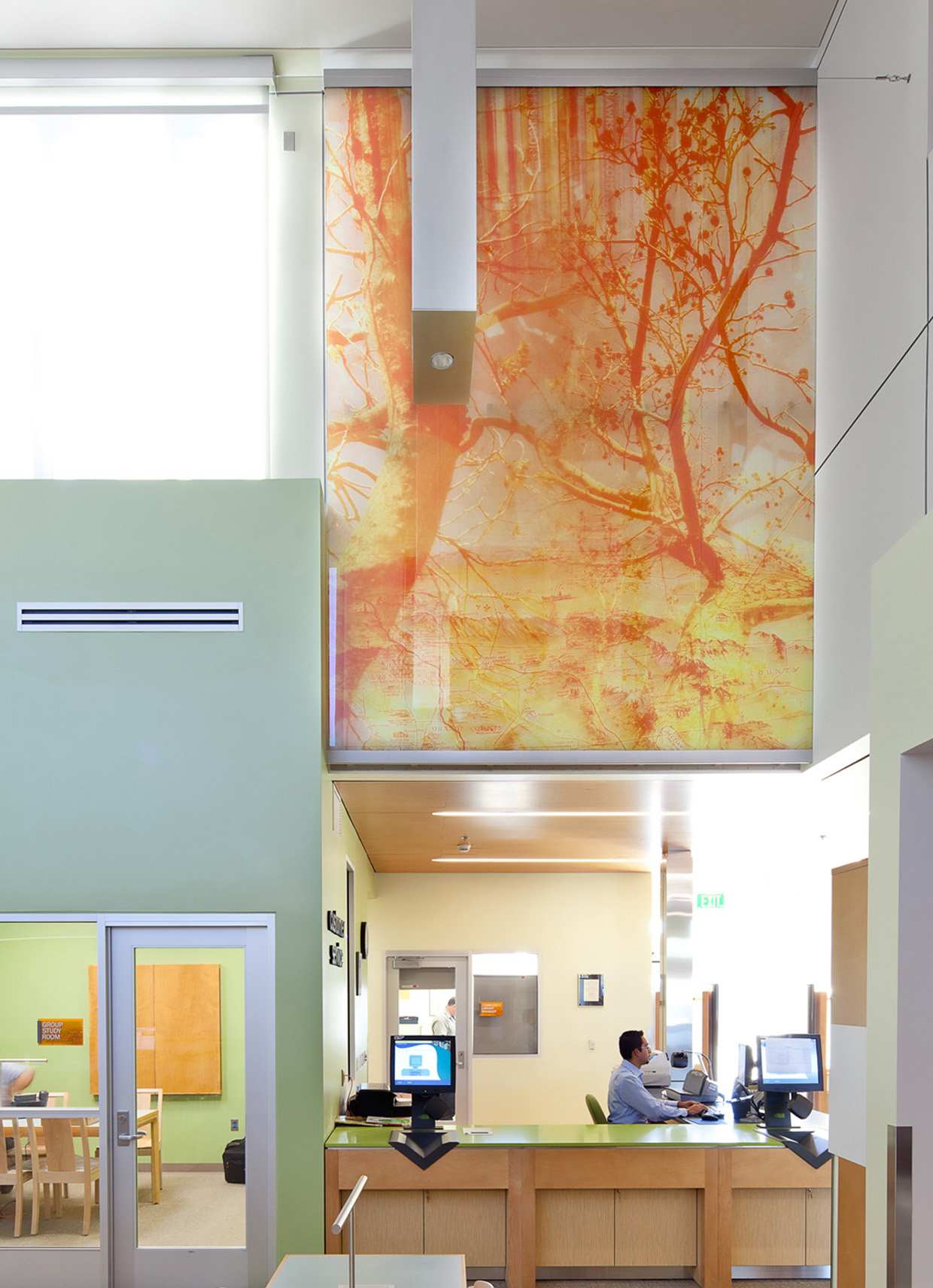 East Rancho Dominguez Library Art Collage Glass.jpg