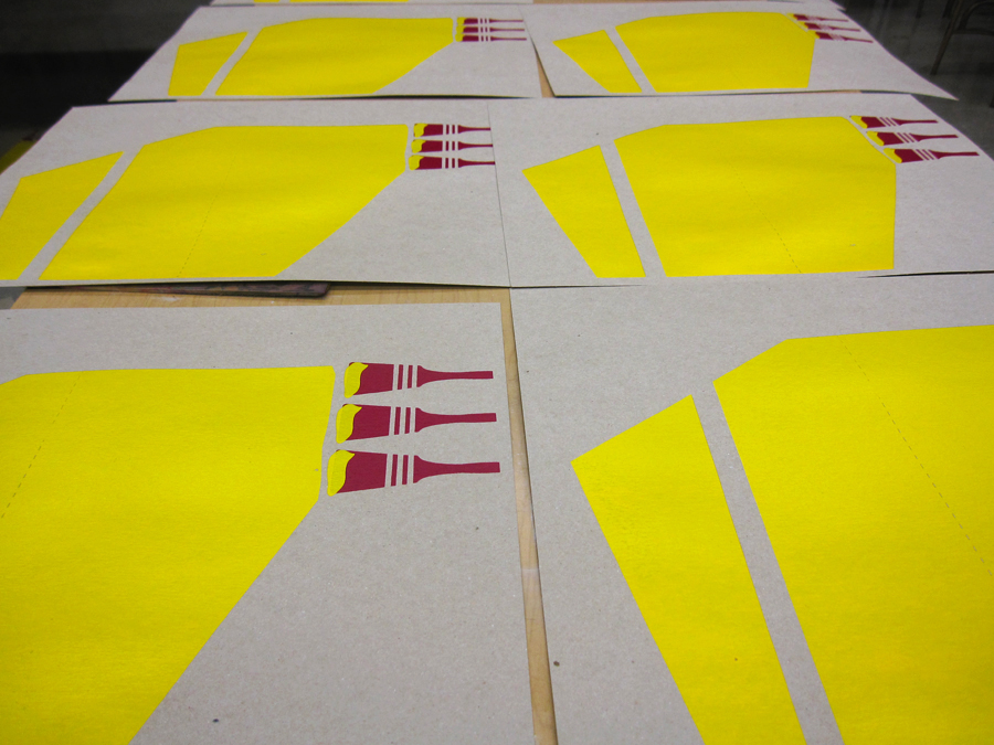Screen Print Posters Yellow Paint Brushes.jpg