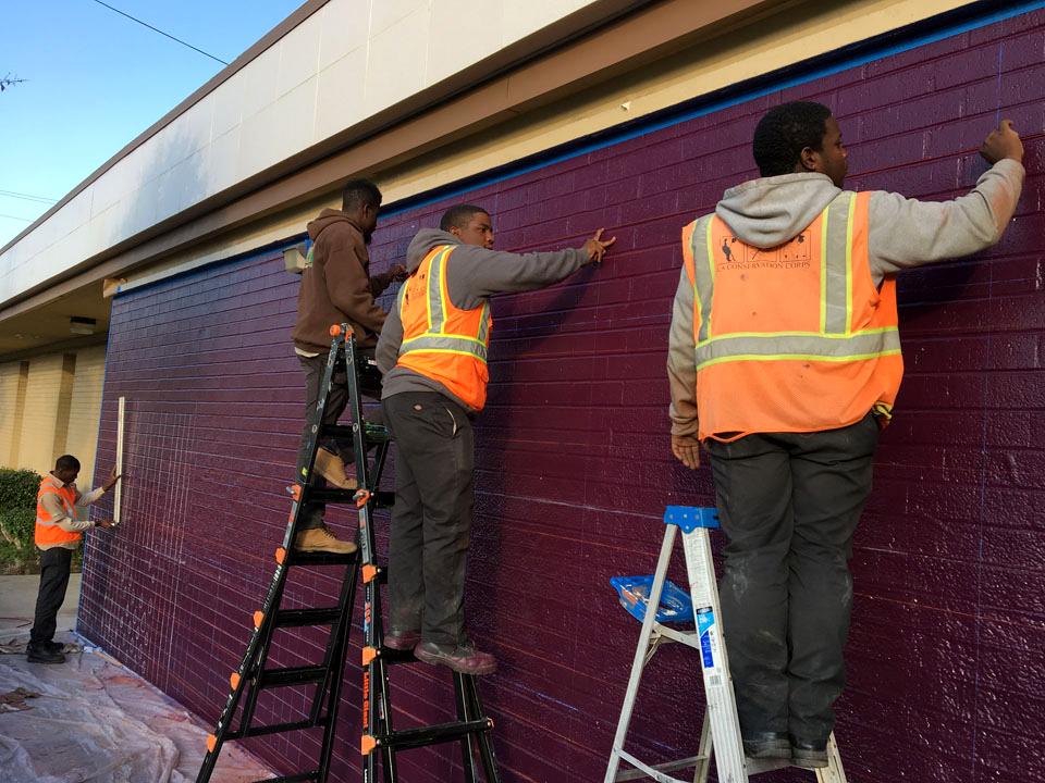 Woodcrest Library Los Angeles Conservation Corps Measuring Public Art Anti Graffiti.jpg