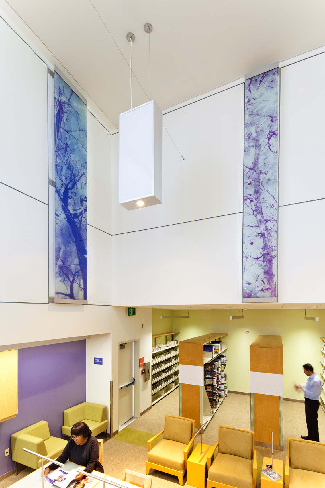 East Rancho Dominguez Library White Purple Printed Glass.jpg