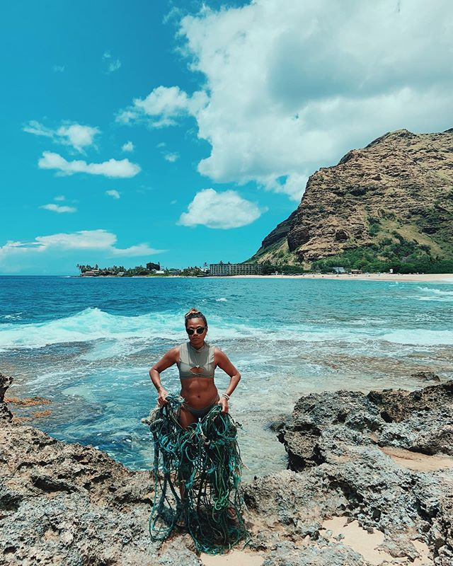 It's all connected. From the mountains to the sea. Came home from the Mauna to find this in my home waters. We need to protect what we love.  It is your kuleana to do so if you call Hawai'i your home 💙 Mālama `Āina can save the world 🌍 photo: @pukapantsjack