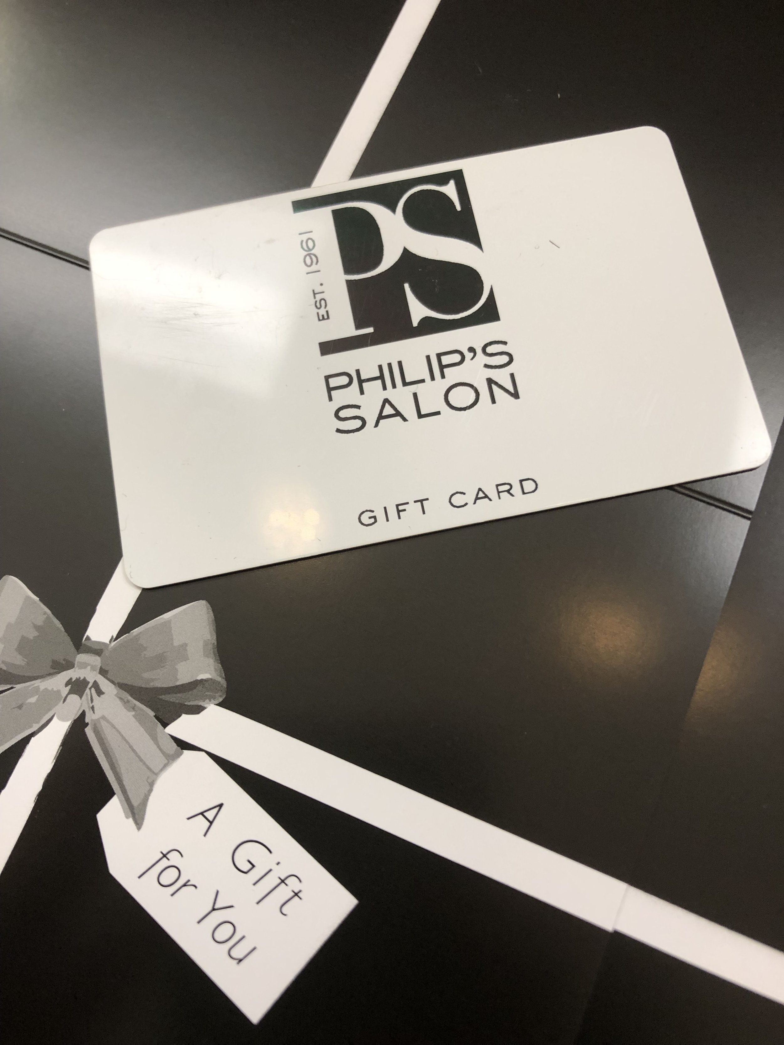 Looking for the perfect present?Stop in to give the gift of happy and healthy hair to your special someone. -