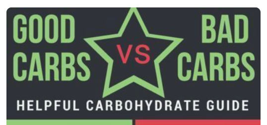 Good vs bad....well since food has no moral value it shoudnt matter! Eat whatever carbs you want but don't get caught up in the good or bad, focus on how you feel, what tastes good and what you enjoy!