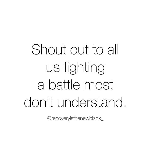 Calling all warriors 🙋🏼♀️🙋🏼♀️🙋🏼♀️⠀ ⠀ Whether your battle is food, sex, gambling, eating disorders, alcohol, drugs, shopping, cutting, codependency, etc., I see you! ⠀ ⠀ The most badass people I've met are in some type of recovery. It takes strength, grit, and bravery to face our weakness head on. ⠀ ⠀ Whatever your battle is, just for today, choose you! ⠀ ⠀ .⠀ .⠀ .⠀ .⠀ .⠀ .⠀ .⠀ .⠀ .⠀ .⠀ ⠀ #recoveryisthenewblack  #soberaf #teetotaler #oregonlottery #recoverycoach #addictionscounselor #everyonematters #sobermom  #recoveryblogger  #alcoholicsanonymous  #twelvesteps #alcoholism #recoveryispossible #recoveroutloud #maternalmentalhealth #alcoholrecovery #projectsemicolon #cleanandsober #alanon #wedorecover #recoverycommunity  #bethevoice #wereallinthistogether #speakup #stigmafree #talkaboutit