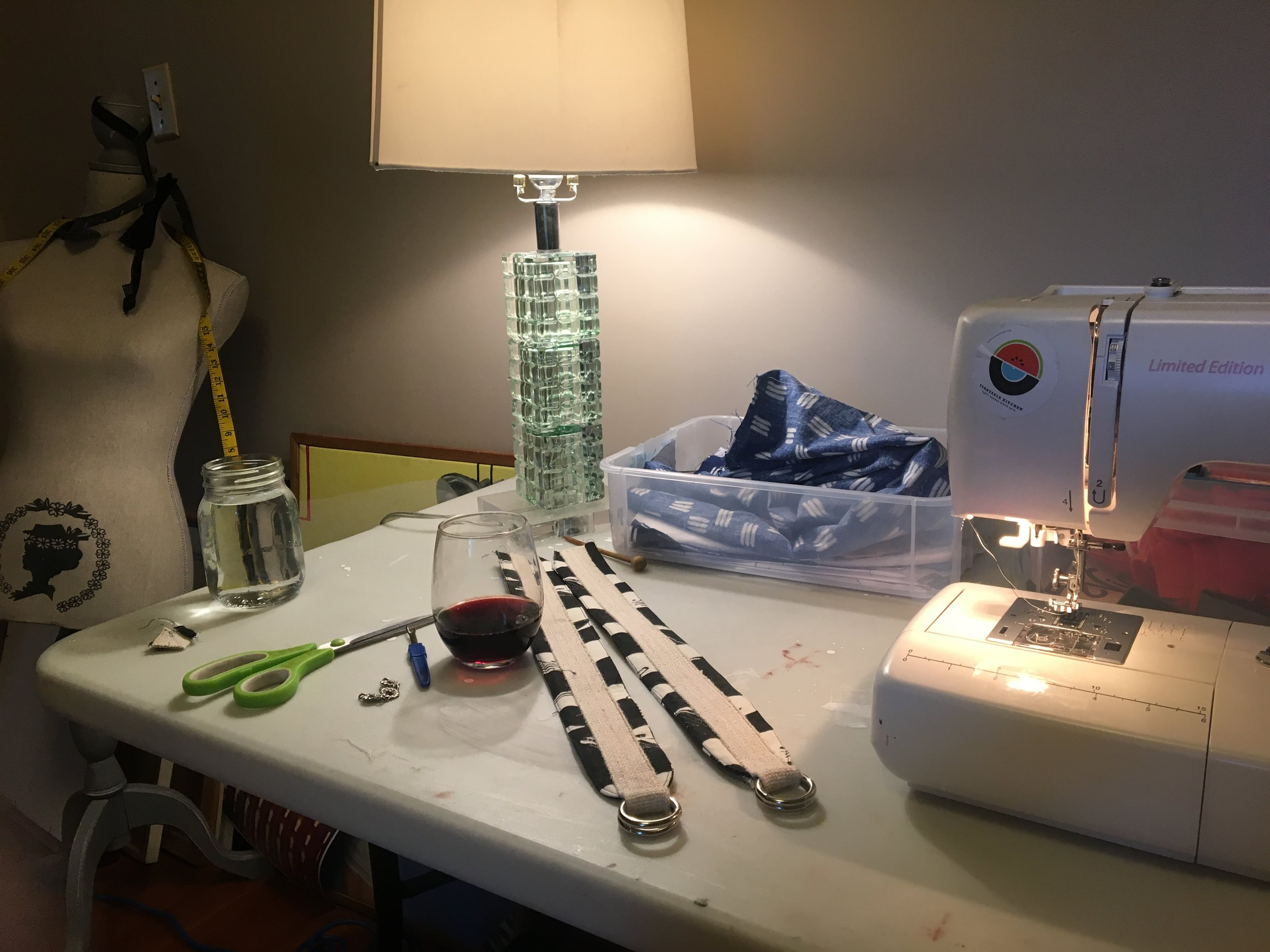 Joyous Day - A sewing room