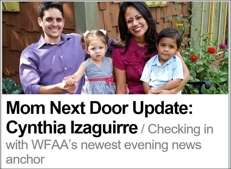 Mom Next Door Update: Cynthia Izaguirre
