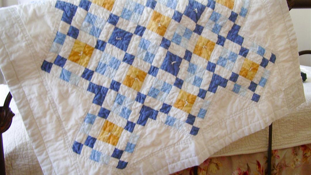 Original Wyoming Four-Patch via www.helloquilting.com