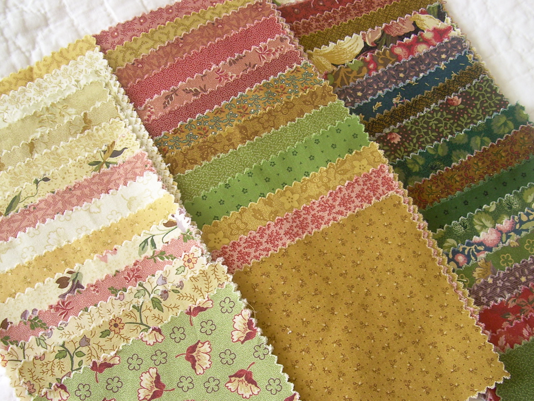 Thimbleberries House & Garden Quilt Club Charm Pack via www.helloquilting.com
