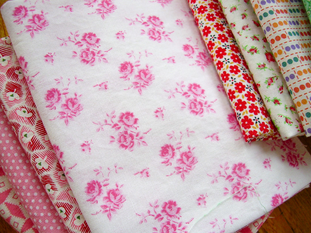 Antique Rose from Lakehouse Dry Goods via www.helloquilting.com