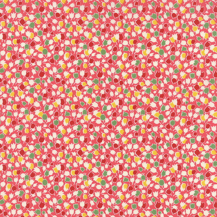 American Jane Bread n Butter Tulips Pink via www.helloquilting.com