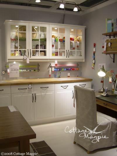 Ikea Cottage Style Craft Room Ideas, Craft Room Ideas With Ikea Furniture