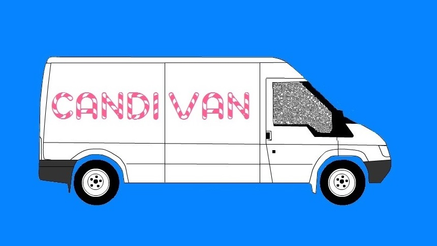 An early version of the Candivan logo
