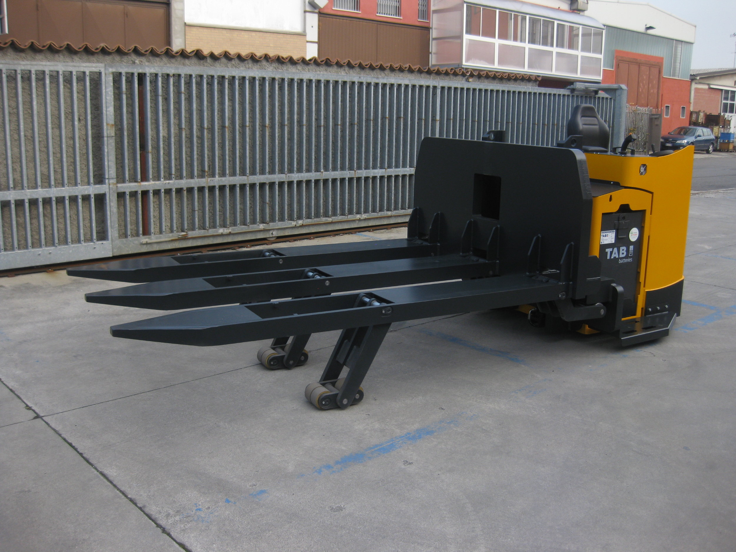Airport Trucks  - For handling cargo loads.