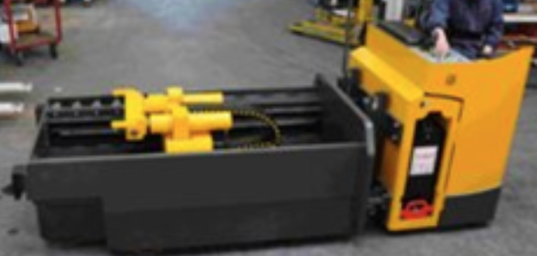 Dies Handler Trucks - Specially designed for die equipment weighing from 1000 to 10,000 kg, these trucks offers safe picking, positioning of die machine and storage.