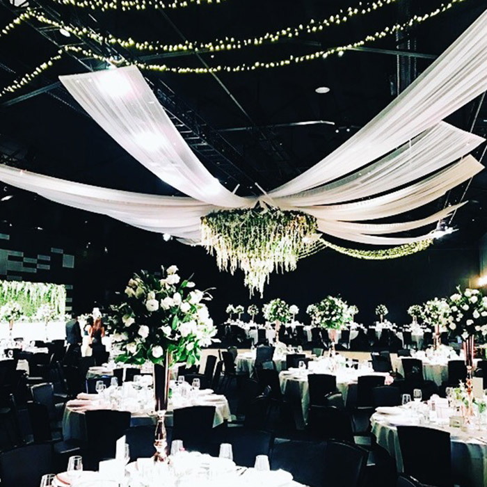 Should I Hire Or Diy My Wedding Draping Event Draping