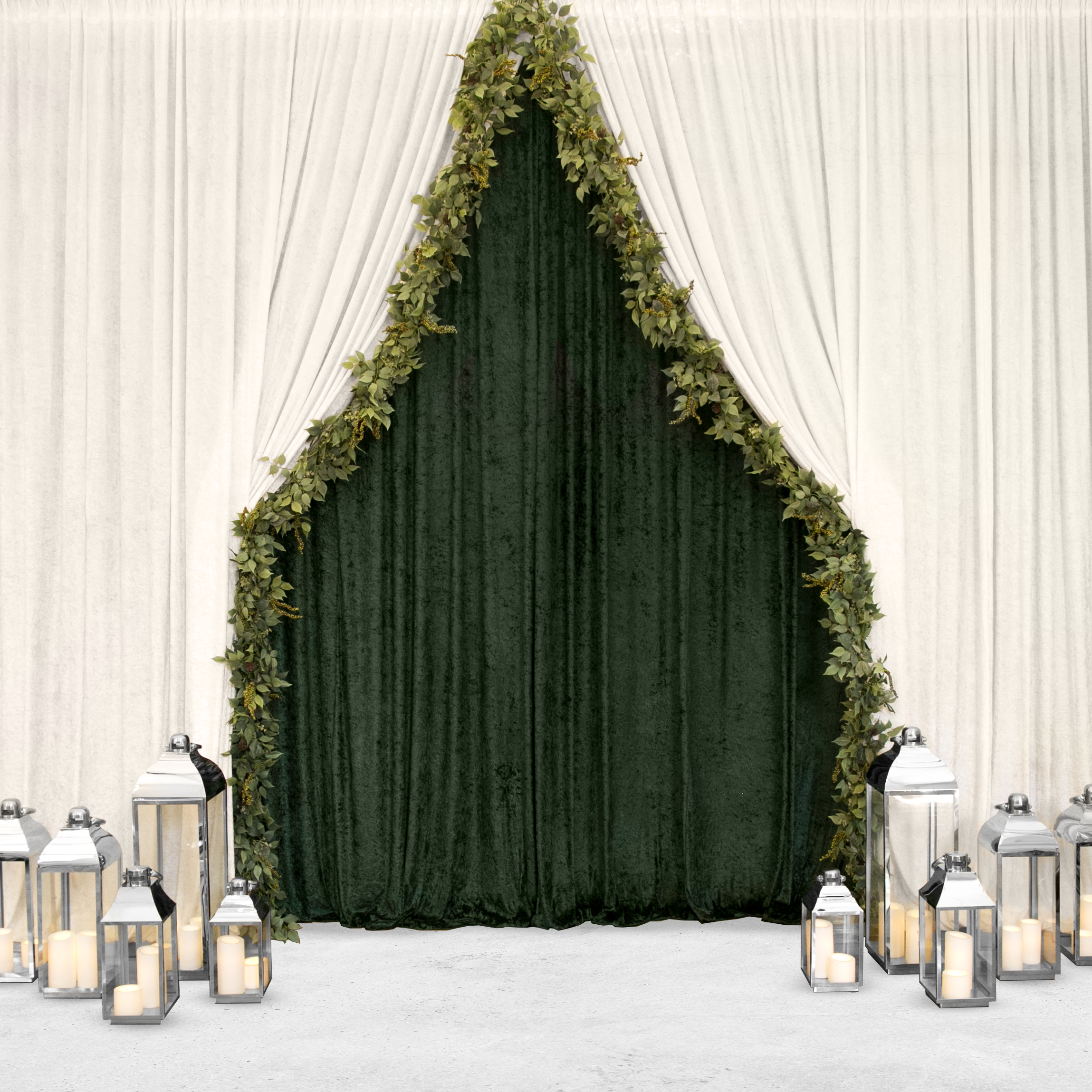 Garland Backdrop Draping Event Draping Melbourne Active Draping