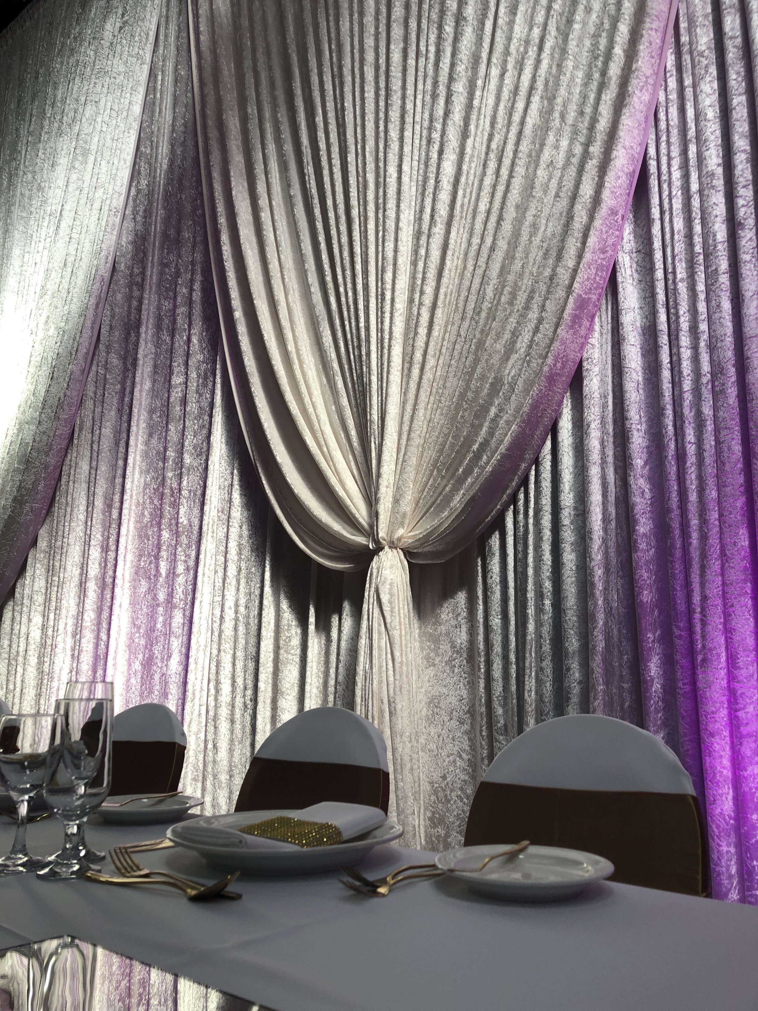 event draping hire melbourne