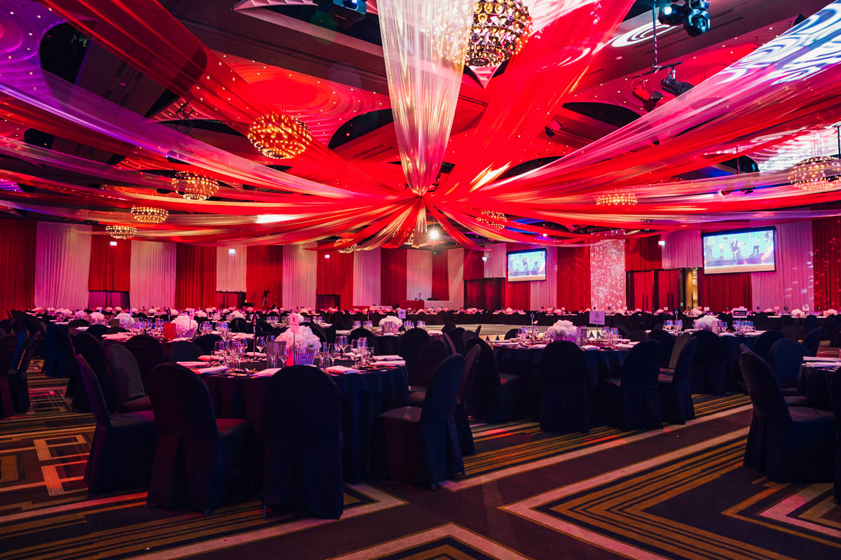Melbourne's luxury Event Draping company. Choose active for your events. -