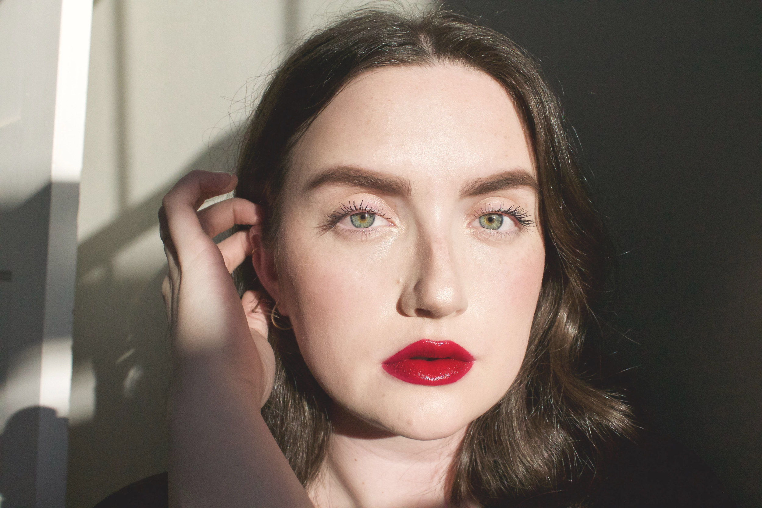 LOVING LUCY - a deep jewel-toned red (literal perfection, you know this is my fave)