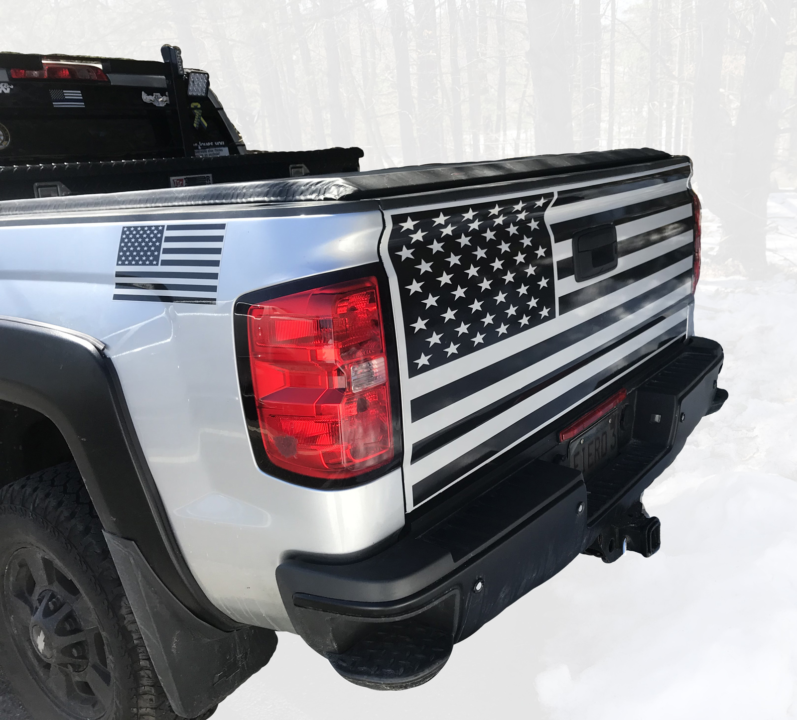 Custom Tailgate Graphics Available!