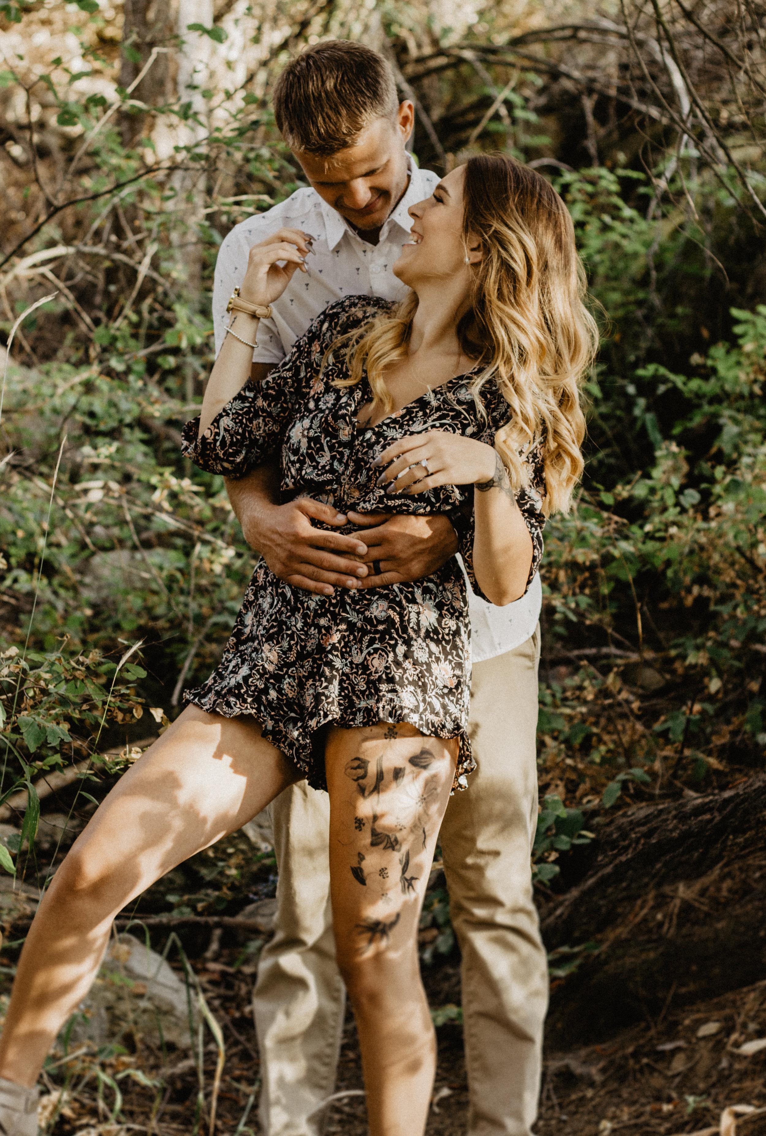 Woodsy Idaho Engagements