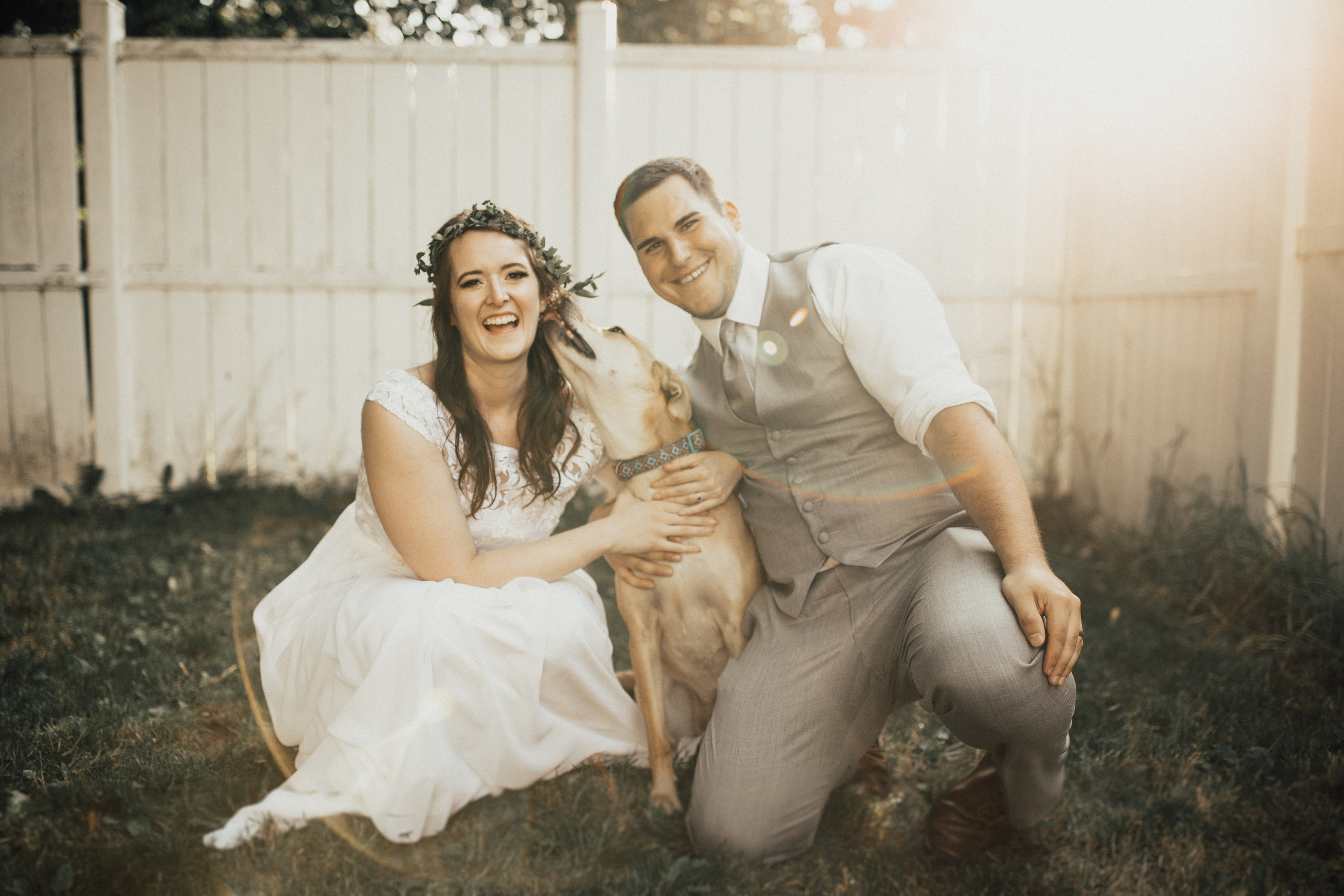LETS CREATE SOMETHING TOGETHER… - If there is something you and your partner really enjoy doing together, lets incorporate that into your wedding day. If that means doing your first look at your favorite spot, or incorporating your pet into your ceremony, let's do it!