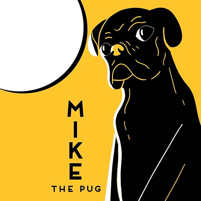 Mike the pug @mike_pugsly