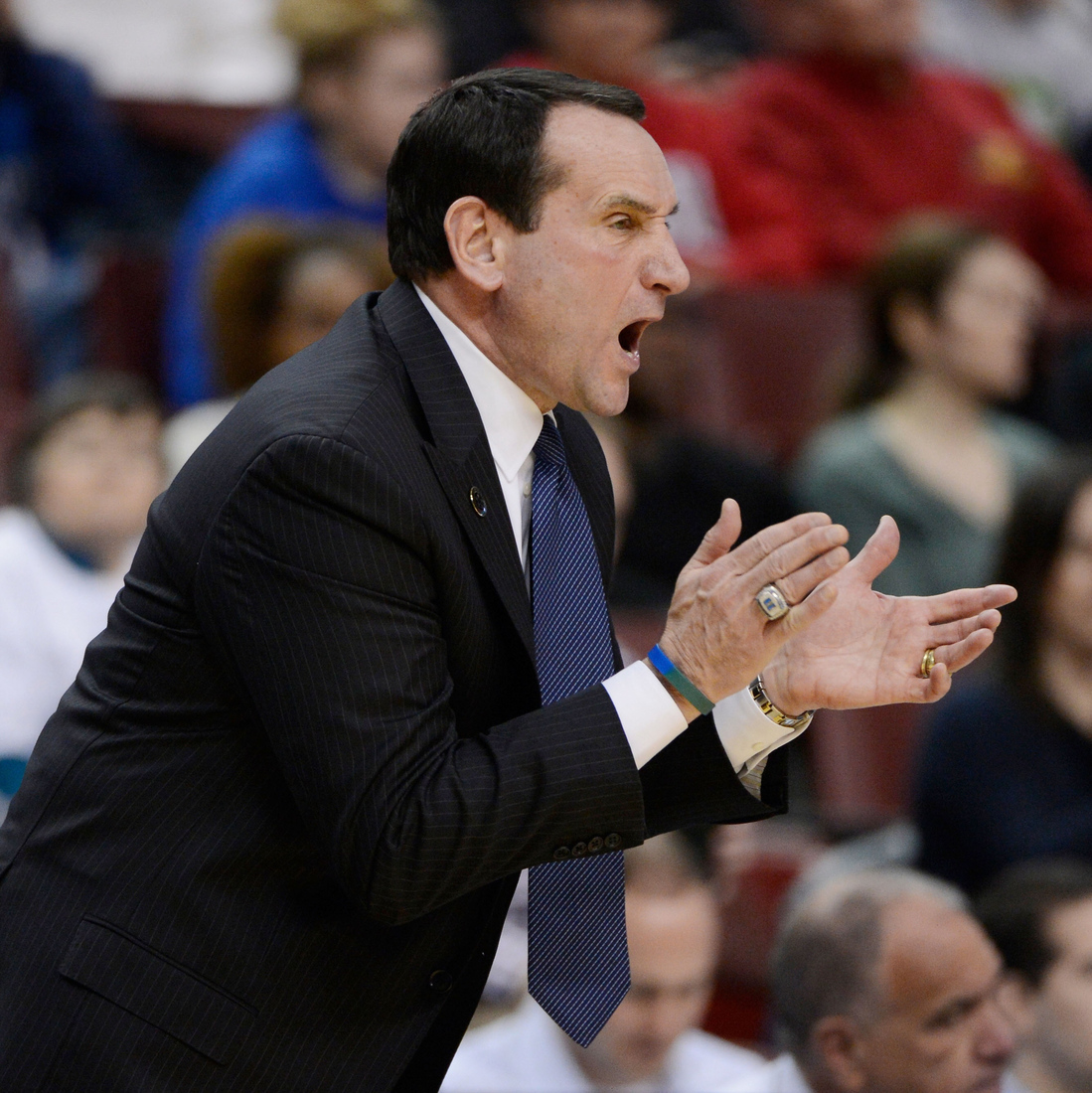 """""""If what you did yesterday still looks big to you… You haven't done much today"""" - - Mike Krzyzewski"""