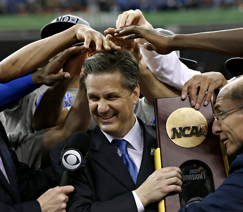 """""""It's not just about working hard, it's about working together. You have to care more about the team than you do about yourself"""" - - John Calipari"""