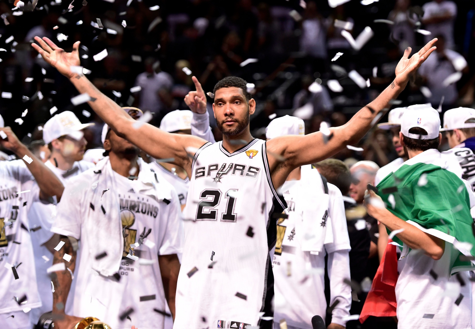 """""""You've got to stay ready, especially around here. That's what we preach, you'll get your opportunity whether it comes at the beginning or in the middle or in the end whenever it may be. When your time comes, you need to be ready to go because you're going to earn your minutes"""" - -Tim Duncan"""