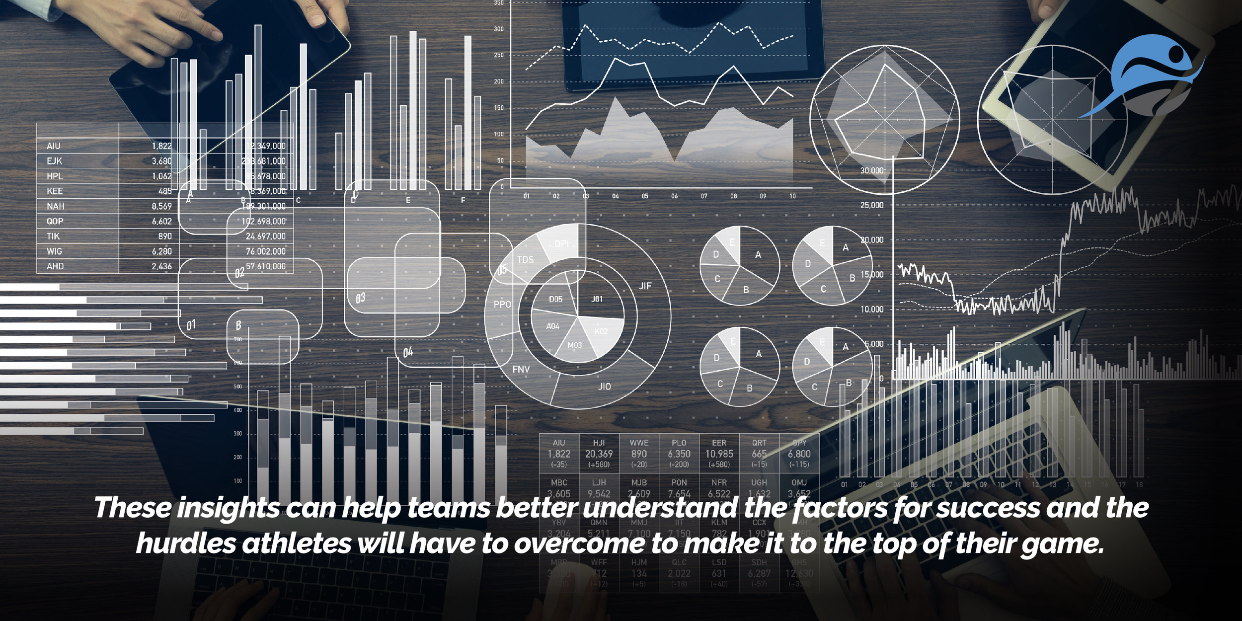 Every day companies, teams, and individuals are coming up with ways to capture more data and record more information about what's happening across the playing fields and courts.