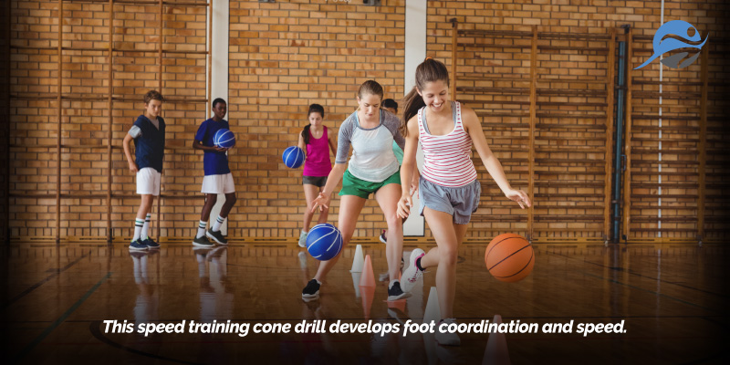 Ring Around the Cone: Agility Cone Drills — Hustle