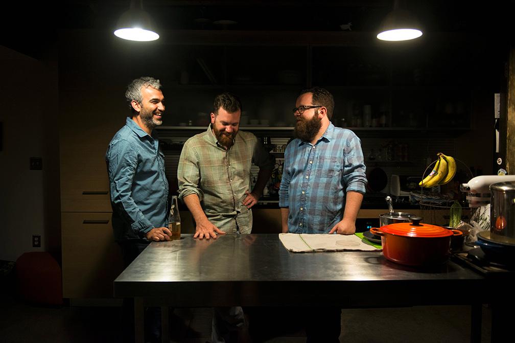 Pete Clark (fiddle), Matt Orlando (Banjo), Andrew Fullerton (Vocals, Guitar) | Photo Credit: Shira Yudkoff