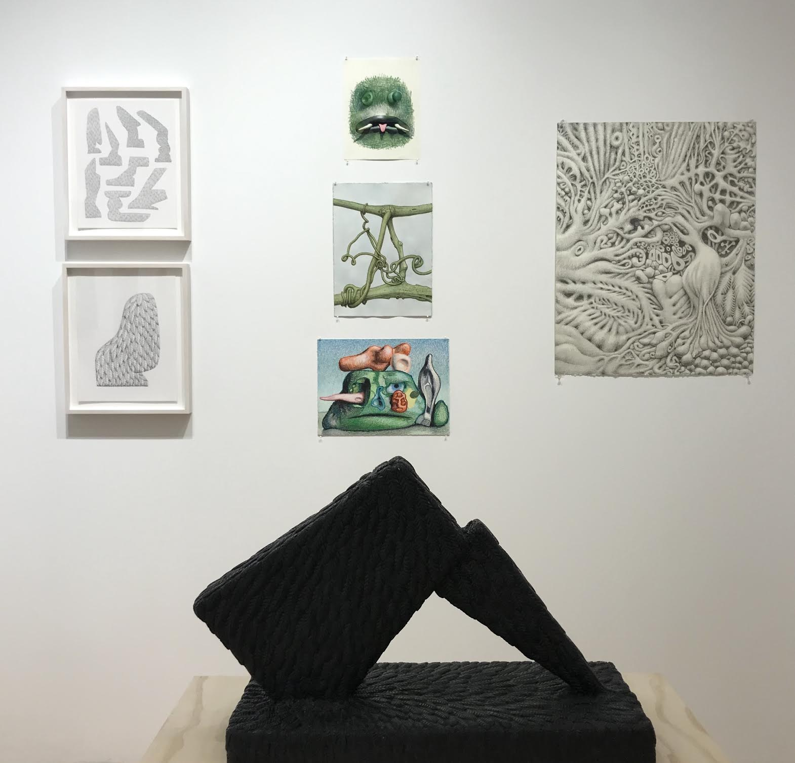 Installation view of Further at George
