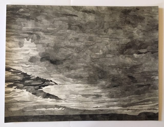 Sophia Frydman | Night Clouds 2, 2018  $1,300.00
