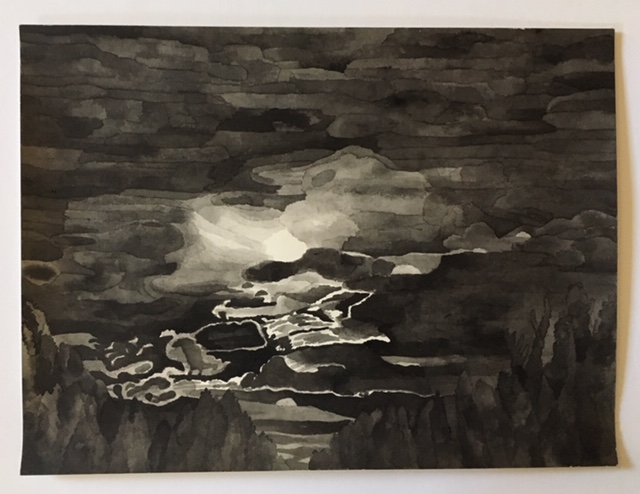 Sophia Frydman | Night Clouds, 2017  $1,000.000