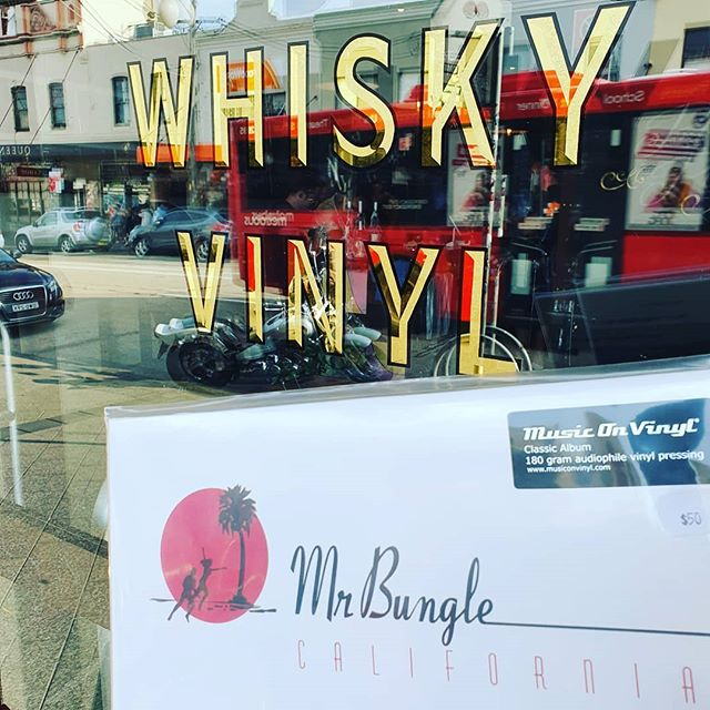 So what are you up to today? #whisky #vinyl #mrbungle #cottonmouthrecords