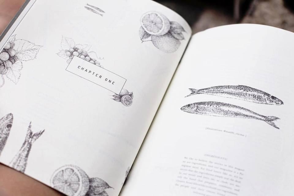 Salt & Wonder magazine // Illustrations & creative direction // Vienna, Austria