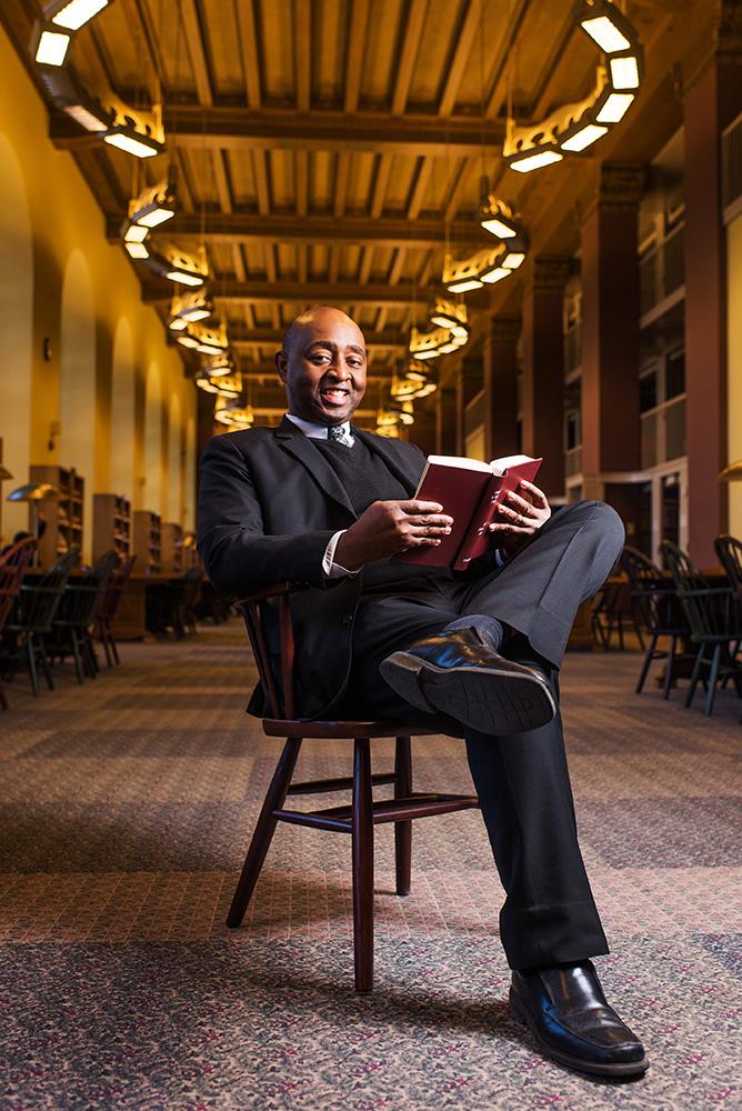 Felton Thomas, Jr., Cleveland Public Library