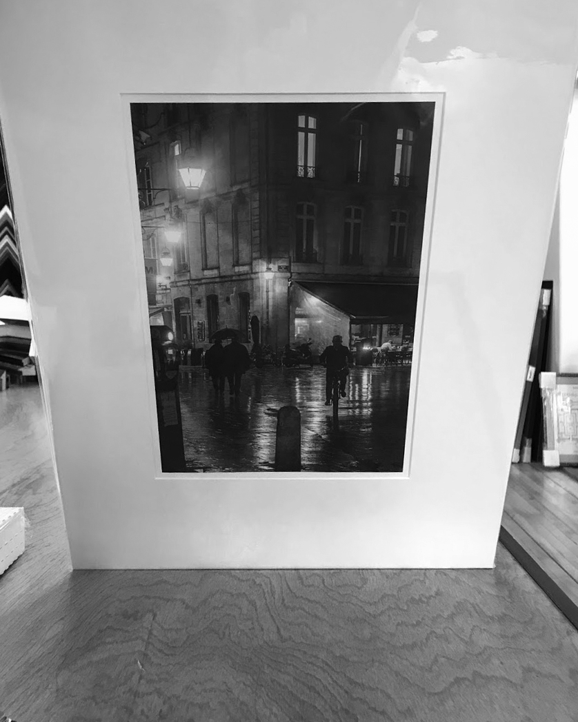 Parliament Square Bordeaux, France  8x12in 2018