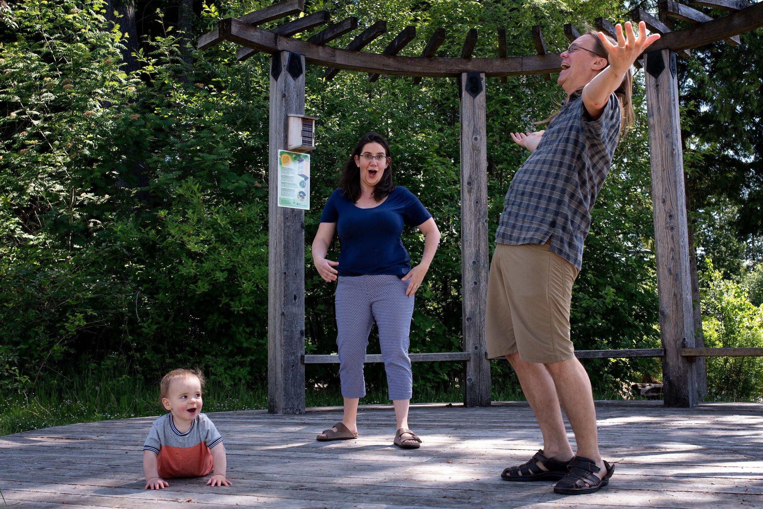 Family dance part