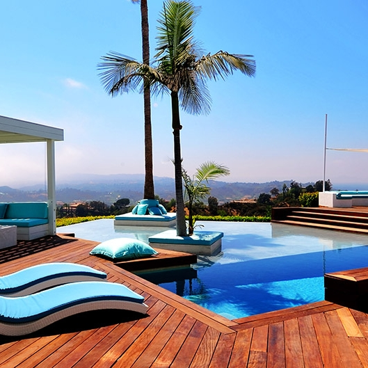 los angeles - hollywood hills