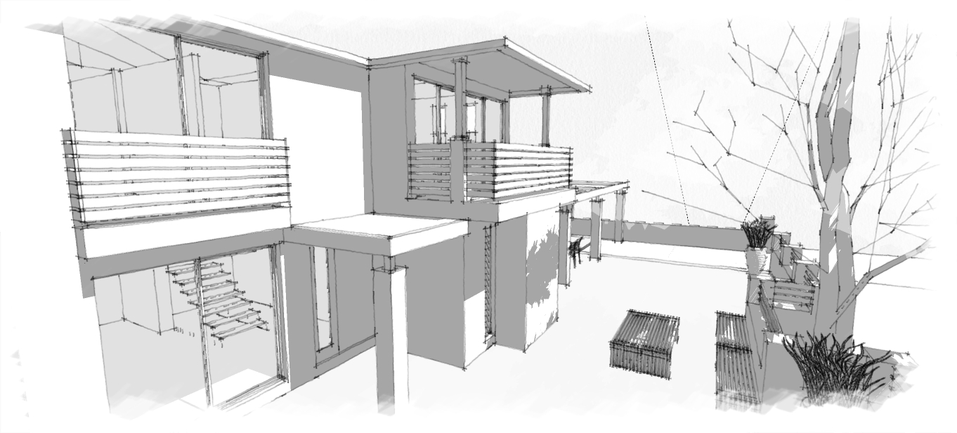 3D model for easier visualisation of the project.