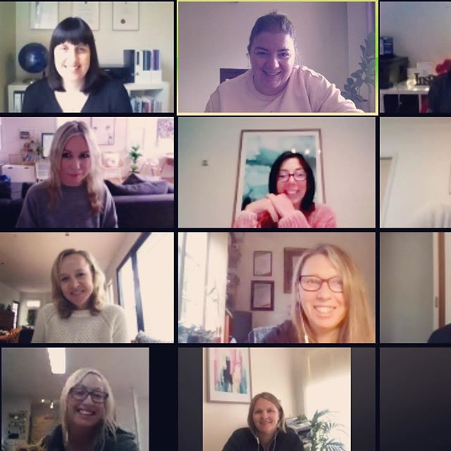 Another great monthly online meetup with a few @shewillshine.com.au members. So glad the waitlist opened start of year, I've had fun co-working sessions, lots of business and moral support from other women from so many different business types. A really supportive group. Next a social outing 😉 xx  BTW memberships are temporarily opened.  #womenempowerment #womensupportingwomen #smallbusiness #squarespace
