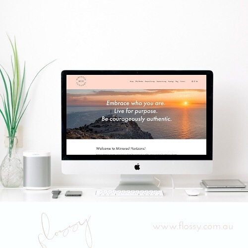 Before I went on my amazing family holiday to Thailand I had the delight in working with Julia & Em from @mirroredhorizons 💕 These two are passionate, dedicated and sooo on top of their new business! They came to me with branding, copy & a vision, and it was such a pleasure to work with them to make the website vision a reality. Even just reading their first couple of blogs (which I loaded for them) inspired me and I dare say (without sounding too melodramatic) changed my thinking a bit. #dreamclients 💕💕