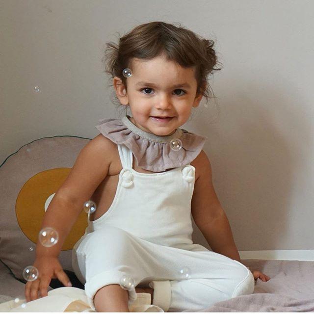 Monday Collar 🖤 @sagacopenhagen #littleedit #organiccotton #gifts #babygifts